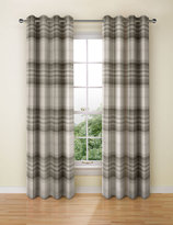 Marks and Spencer Cosy Checked Eyelet Curtain