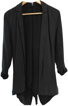 Topshop Tophop Anthracite Coat for Women