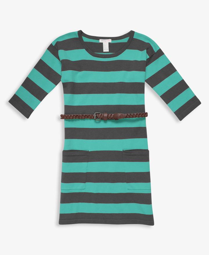 Forever 21 girls Braided Belt Sweater Dress
