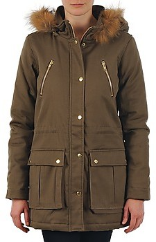 School Rag PARKLEY women's Parka in Green