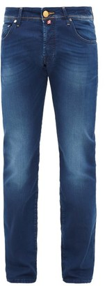 Jacob Cohen Slim-leg Fade Wash Jeans - Mens - Indigo