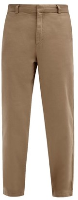 Another Aspect - Another Pants 2.0 Cotton-twill Chino Trousers - Brown