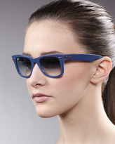 Ray-Ban Wayfarer Sunglasses, Blue