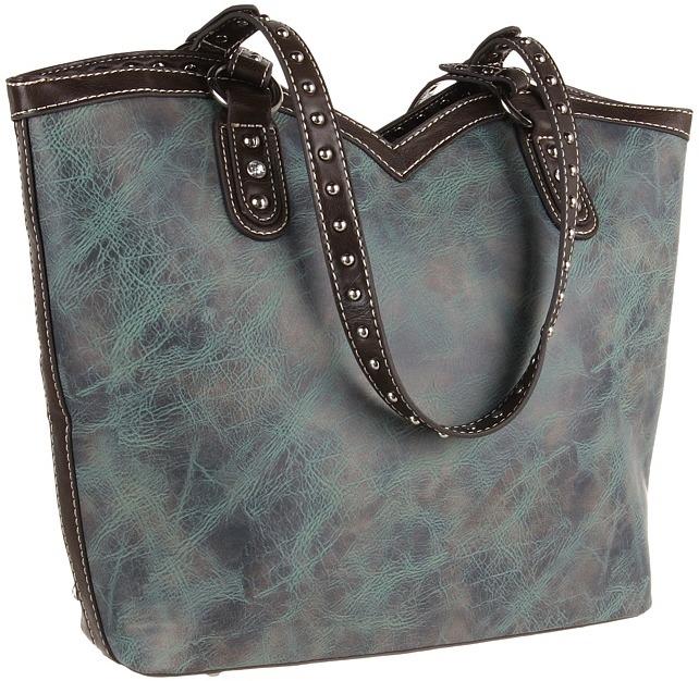 M&F Western - Texas Star W/Cross Boot Top Tote Tote Handbags