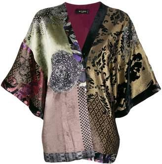 Etro patchwork kimono