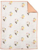 Nurseryworks Nursery Works Menagerie Organic Cotton Hand-Quilted Blanket Title