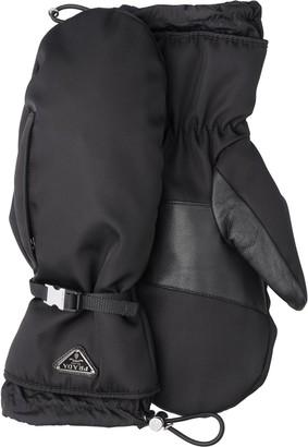 Prada Nylon Gloves