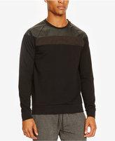 Kenneth Cole Reaction Men's Mixed-Media Sweatshirt