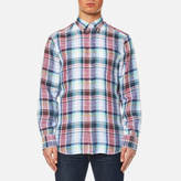 Gant Men's Linen Plain Long Sleeve Shirt
