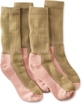 L.L. Bean Women's CoolMax Hiker Socks, Two-Pack