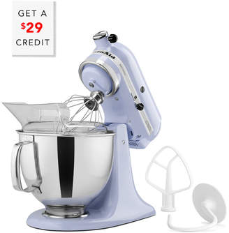KitchenAid Artisan Series 5Qt Tilt - Head Stand Mixer - Ksm150pslr With $29 Credit