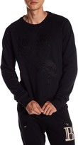 Pierre Balmain Eagle Embroidered Pullover