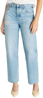 ÉTICA Tyler Vintage Straight-Leg Cropped Jeans