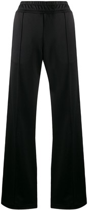 Fendi logo tape track pants