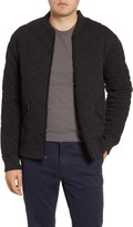 Bonobos Slim Fit Quilted Bomber Jacket