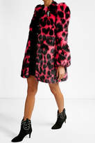 Marc Jacobs Printed Faux Fur Coat