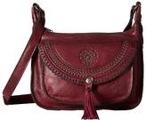 Patricia Nash Camila 2 Zip Square Hobo Crossbody Cross Body Handbags