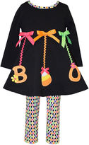 Bonnie Jean Bonnie Baby 2pc Black Boo Set NB-24M