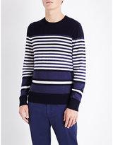 Orlebar Brown Lucas Striped Knitted Jumper