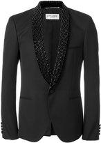 Saint Laurent embellished blazer