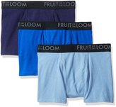 Fruit of the Loom Men's Breathable Short Leg Boxer Brief