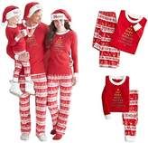 FANYUAN Family Matching christmas pajamas set Cotton Sleepwear Outfits (S, )