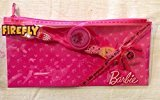 Dr Fresh Barbie Toothbrush and Cap and Zippered Plastic Travel Pouch
