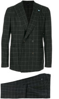 Tombolini checked formal suit