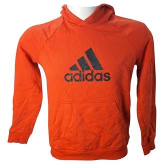 adidas Orange Cotton Knitwear