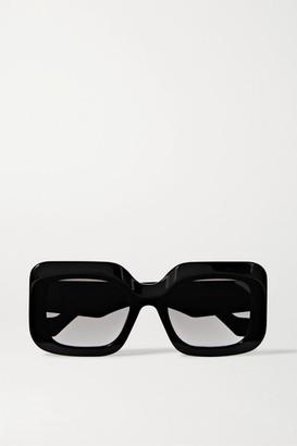 Loewe Oversized Square-frame Acetate Sunglasses - Black