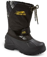 Arctic Cat Boys' Arctic Cat Snowshower Winter Boots - Black Print 4