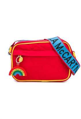 Stella McCartney Rainbow Detail Quilted Shoulder Bag