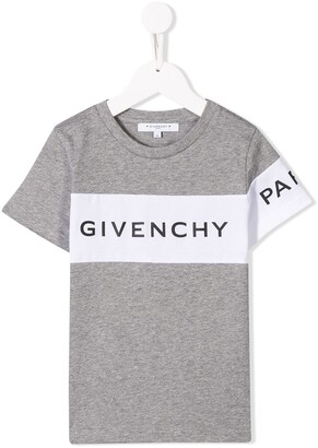 Givenchy Kids printed logo T-shirt