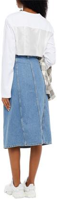Ganni Denim Midi Skirt