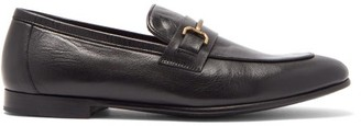 Dunhill Chiltern Horsebit Leather Loafers - Black