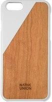 Native Union White Clic Wood Case for iPhone 6