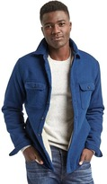 Gap Sherpa-lined shirt jacket