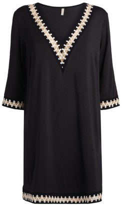 Gottex Rope-Trimmed Tunic