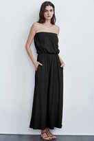 Cotton Strapless Maxi Dresses - ShopStyle