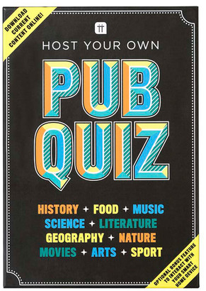 Talking Tables - Host Your Own Pub Quiz Game