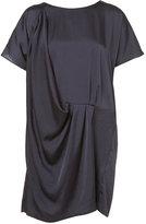 Topshop Drape Tunic Dress