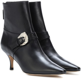 Dorateymur Saloon leather ankle boots