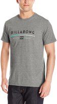 Billabong Men's Tri-Unity Short Sleeve T-Shirt, Dark Grey Heather