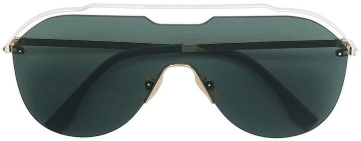 fb41e97abc2d3 Fendi Green Women s Sunglasses - ShopStyle