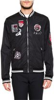 Dolce & Gabbana Zipped Nylon Jacket