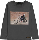 Finger In The Nose Longjohn Biker T-Shirt