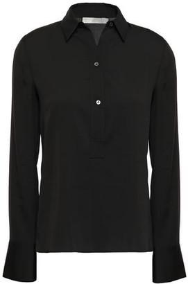 Vince Silk-blend Crepe De Chine Shirt