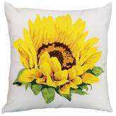 Nourison Sunflower Outdoor Pillow