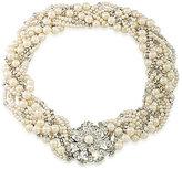 Carolee Grand Entrance Faux-Pearl & Crystal Torsade Necklace