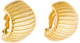 Givenchy Grooved Clip-On Earrings